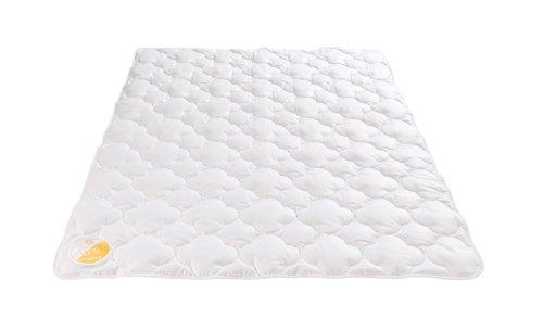 Böhmerwald KIDS Leichtsteppbett Bettdecke, Baumwolle, weiß, 100 x 135 cm
