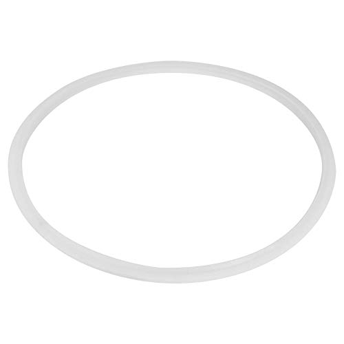 Anillos de Sellado de La Junta de Silicona para Olla de Olla a Presión, Accesorio de Cocina Herramienta de Cocina Blanca Transparente Común(Diámetro26CM)