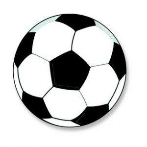 Mallard Ferrière - Décors Azyme Ballon De Football Aromatise Vanille - X50