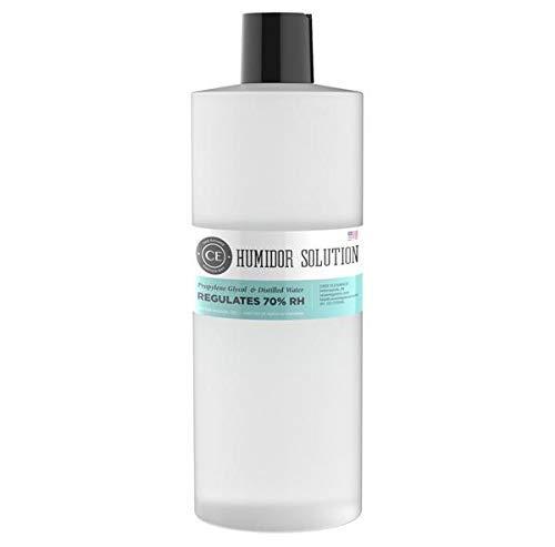 CASE ELEGANCE Humidor Solution Pack of 1-50% Distilled Water / 50% Propylene Glycol