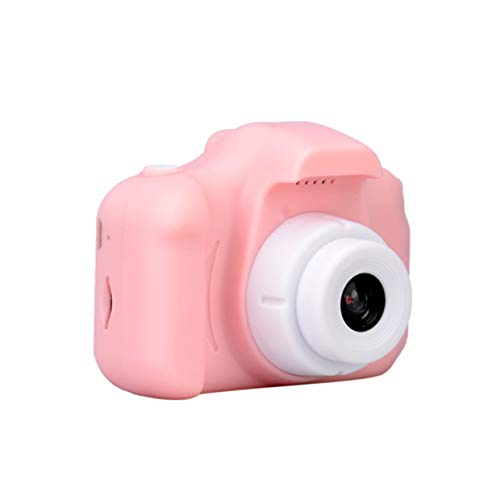 El Mini Juguete MXECO Baby Cartoon Puede Tomar Fotos de la cámara Digital para niños Mini Toy Cartoon Professional Fashion (Pink)