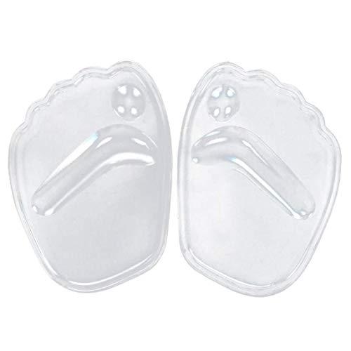 dyudyrujdtry Beste Kwaliteit Beschikbaar Hot Koop 1 Paar Transparante Vrouwen Silicone Gel Voorvoet Pad Anti Slip Pijn Relief Hoge Hakken Pads Silicone Transparent