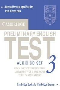 (3 audio cd).camb.preliminary english test.(pet)