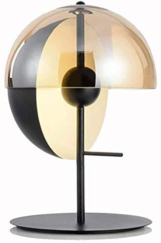 JCMYSH Bedside Table Lamp - Modern Nightstand Lamp Shade Desk Lamps for Bedrooms, Office, College Dorm, Dinning Room, Girls Room for Living Room, Kids Room,