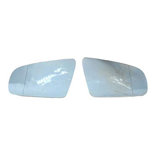 BeIilan 1 Paar vorne rechts Seitenflügel Rückspiegelglas Ersatz für A4 B6 B7 C6 2005-2008 8E0857535E 8E0857536E
