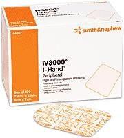 Smith And Nephew Iv Opsite 3000 Dressing Transparent Adhesive 2 3/8