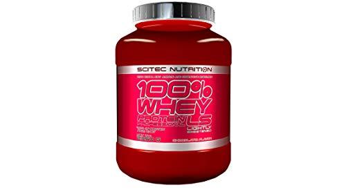 Scitec Nutrition 100% Whey Protein Professional, Cioccolato con poco zucchero, 2350 g
