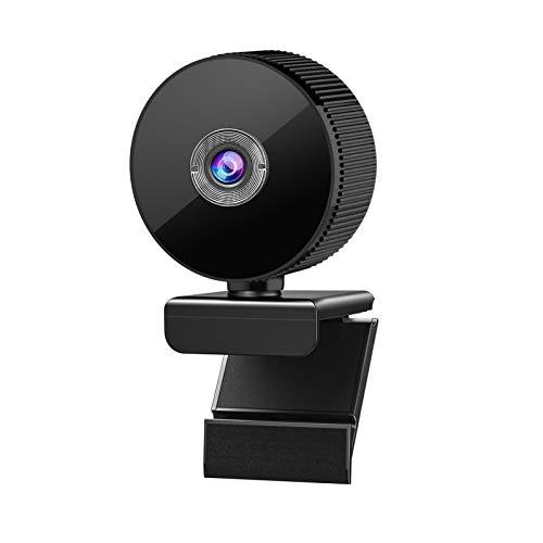 KKmeter Webcam 1080P con Microfono Stereo,USB 2.0 Desktop Laptop Computer Web Camera per Videoconferenza/Chiamata/Gioco/lezione Online su PC