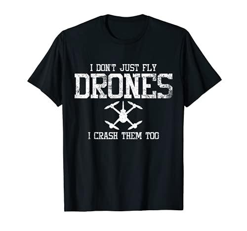 Drones Quadcopter Drone Pilot Camiseta