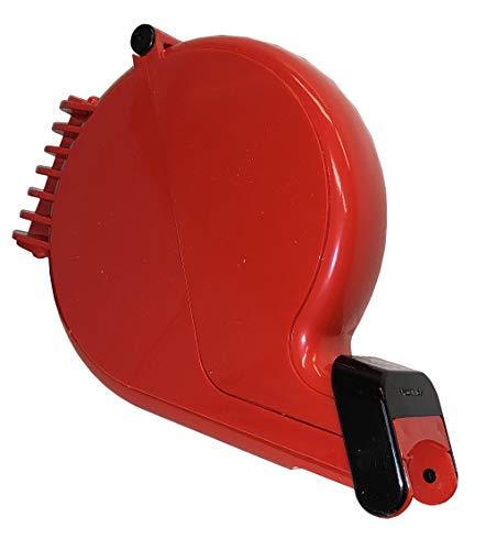 Impretech International Group. Dispensador de tickets rojo con montaje de pared