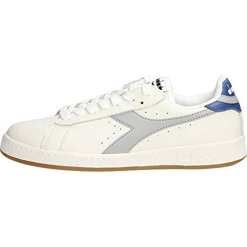 Diadora Sneakers Uomo Game L Low 501.172526-C8571 Bianco/Grigio/Blu 9-43 EU