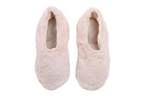 Pantuss natural Ballerina style women's Aromatherapy house Slippers featuring removable and heatable lavender filled insoles