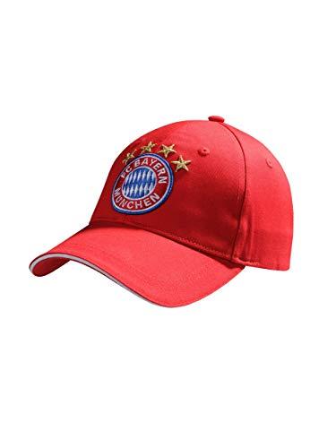 FC Bayern München Baseballcap Logo rot Kids