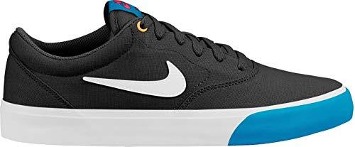 Nike Herren-Freizeit-Skateborad-Schuhe Sneaker SB Charge SLR Trend schwarz blau, Größe:45