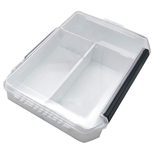 IWILCS Angelgerät Box, Fishing Tackle Box, Kunststoff Angelkasten, Professionelle Angel Zubehör Aufbewahrungsbox, Multifunktionswerkzeugkasten, wasserdichte Zubehörbox