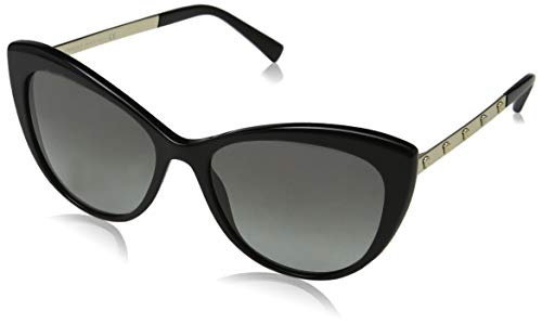 Versace 0VE4348 Gafas de sol, Black, 57 para Mujer