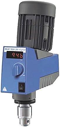 IKA  3593001 RW 20 Digital Mechanical Overhead Stirrer, Mixer, 100-115V