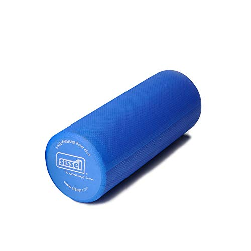 Sissel Pro Fitness - Rodillo para pilates (varias longitudes), color azul – 45 cm