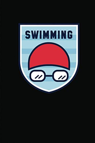Swimming: Swimming Log Book Simple Clear & Easy Swimming Training Journal (Stroke Laps Distance Interval) | Set Goals and Track Your Swimming | Gifts for Swimmers and Swim Coaches