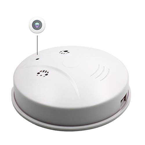 HIDDEN CAMERA IN SMOKE DETECTOR