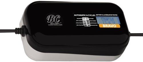 BC BRAVO 1500 - Caricabatteria Mantenitore + Tester batteria e alternatore 1,5 AMP