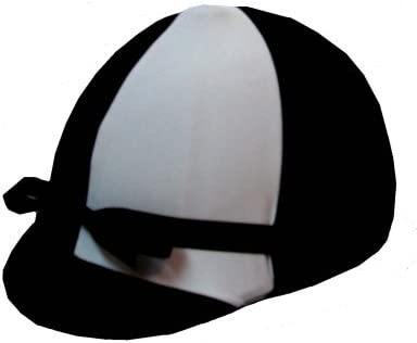 Equestrian Riding Helmet Cover - Fixed price for sale Max 41% OFF White and Black