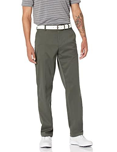Amazon Essentials Men's Classic-Fit Stretch Golf Pant, Olive, 38W x 32L