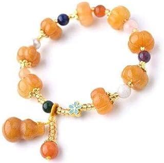 Ladies necklace Crystal treasures jade pumpkin bracelet bracelet agate chalcedony crystal bracelet female Lotus Hoisting