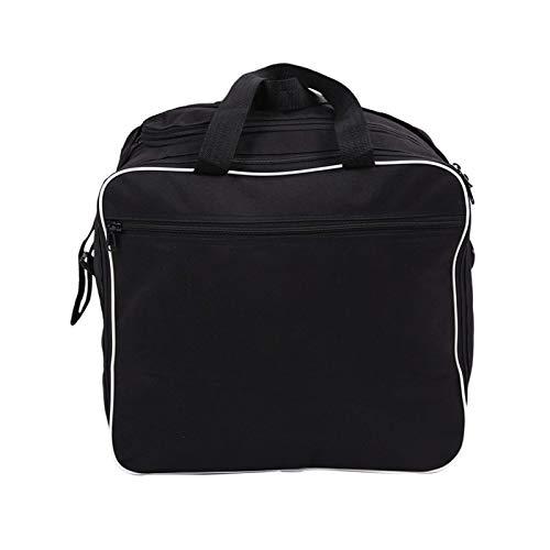 Tinging 38L Motorcycle Side Box Bag Bolsa de Forro Impermeable Maleta Bolsas de Hombro Multiusos Ajuste para R1200GS R1250GS ADV (Color: Negro) Laimi (Color : Black)