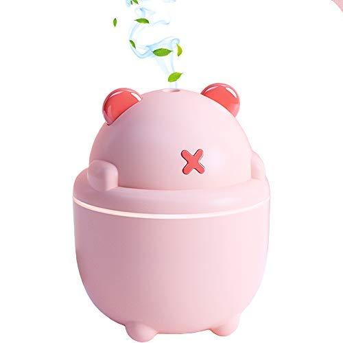 car humidifier, Portable Mini humidifier, 300ml Personal USB car Diffuser Cool Mist humidifier Small Desktop air…