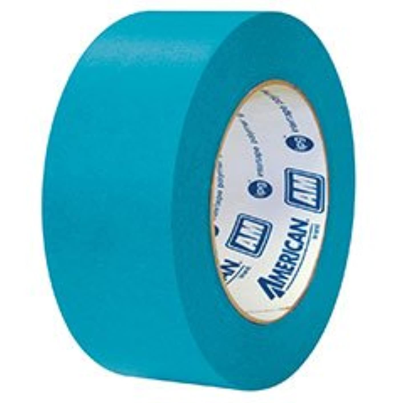 Intertape AM AquaMask Medium Temperature Masking Tape: 1 in. x 60 yds. (Aqua)
