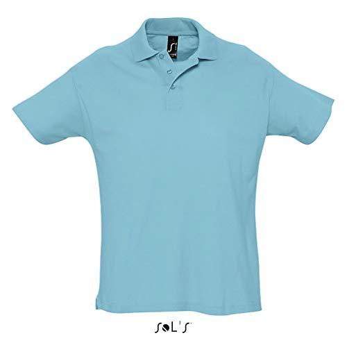 SOL´s Summer Poloshirt Atoll Blue, M