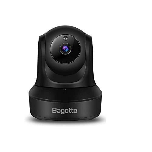 Caméra WiFi 1080P, Bagotte Caméra IP WiFi, Caméra Surveillance avec Service Cloud, Vision Nocturne,...