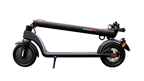 Scoot One E-Scooter E7 - mit Straßenzulassung /ABE, Herausnehmbarer PANASONIC Lithium-Ionen-Akku, 20 km/h, 8,5 Zoll Luftreifen, schwarz - 2