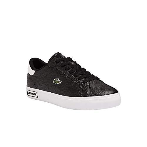 Lacoste Damen POWERCOURT 0721 2 SFA Sneaker, Blk/Wht, 39 EU