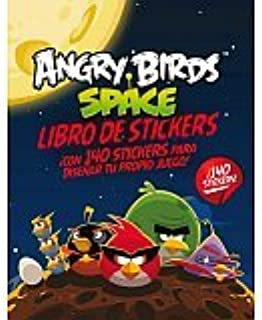 Angry Birds Space Libro Sticker (Spanish Edition)