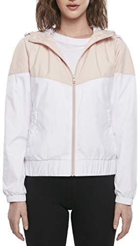 Urban Classics Damen Ladies Arrow Windbreaker Windjacke, lightpink/White, XS