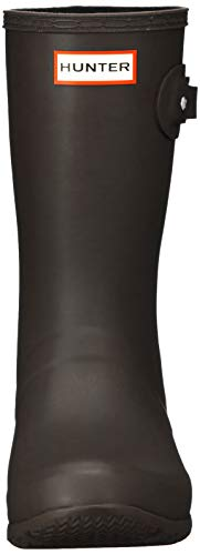 [ハンター]オリジナルツアーショートレインブーツレディースWFS1026RMA-BCH-4ブラウン23cm