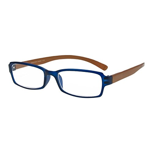I NEED YOU Lesebrille Hangover / +2.50 Dioptrien/Blau-Braun, 1er Pack