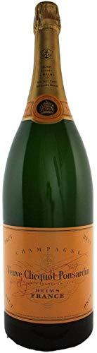 (183,63 € / 1 Liter) Veuve Clicquot Brut Champagner Jeroboam 3,0l Doppelmagnum inkl. Holzkiste