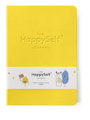The HappySelf Journal – The Award Winning Daily Journal for Kids Aged 6-12 to Promote Happiness, Develop Positive Habits and Nurture Enquiring Minds [English Language Version]