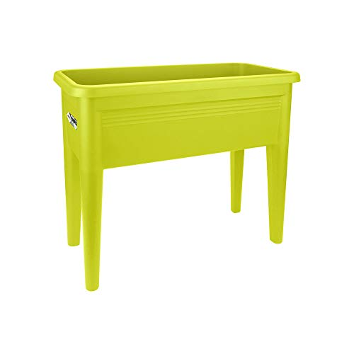 Elho 6926507539700 XXL Basics Grow Table Planter, 37 cm, Lime Green