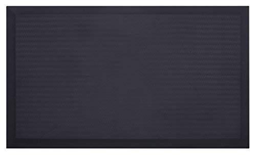 Urvigor Office Standing Desk Mat, Not-Flat Anti Fatigue Mat Comfort Mats for Stand Up Desk or Adjustable Desk Riser, Ergonomically Engineered (18x30x3/4-Inch, black)