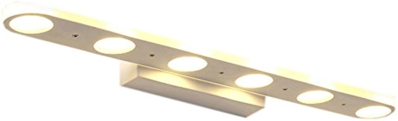 YMXLJF Kreatives Badezimmer LED-Desktop-wasserdichtes weies Linsenlicht Badezimmerzubehr (Farbe   Warmes Licht-58cm(22.8INCH))