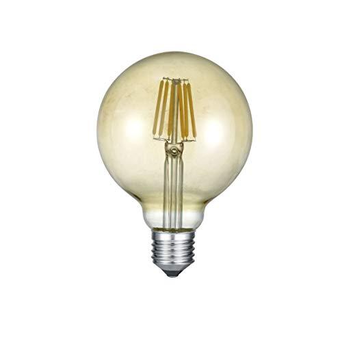 Trio Leuchten LED Leuchtmittel Globe 988-679, Metall aluminiumfarbig, 1x 6 Watt
