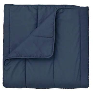 IKEA HALLESPRING Comforter Set, Dark Blue Cooler, Full/Qu