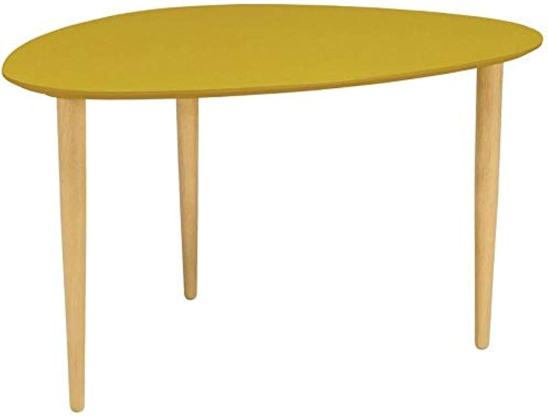 Corey High Yellow Side Table