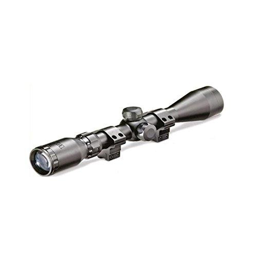 Visor BSA con retícula Mil Dot, 30 cm de Largo, Montura Anillas 11 mm, corrección dióptrica en Objetivo, EMD 4X32 WR