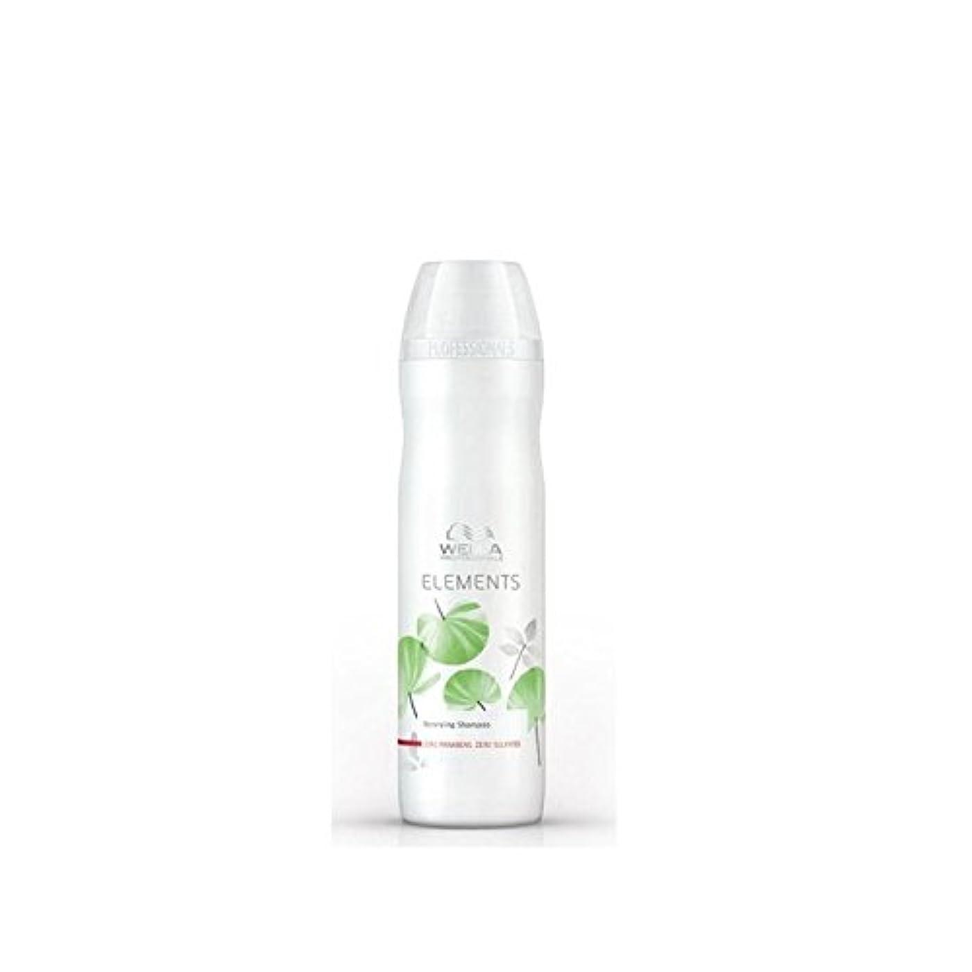 アンビエントキャスト気づかないWella Professionals Elements Renew Shampoo (250ml) (Pack of 6) - シャンプーを更新ウエラ専門家の要素(250ミリリットル) x6 [並行輸入品]