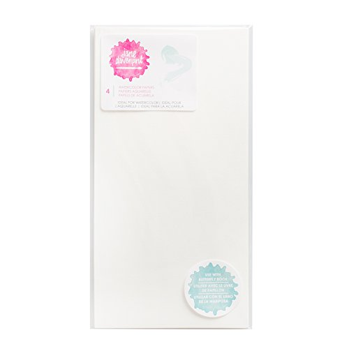 American Crafts Mixed Media 4 Piece Watercolor Paper, None